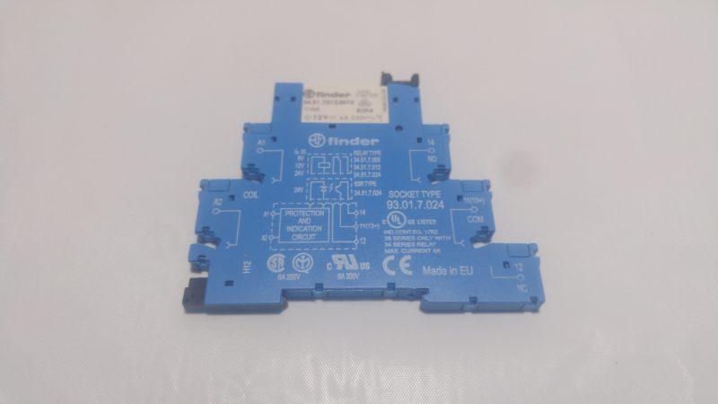 Slim Finder Relay 12v Dc W Base Zeiset Equipment